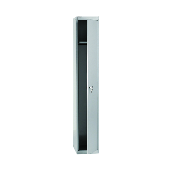 Bisley 1 Door Locker W305xD305xH1802mm Goose Grey BY08945