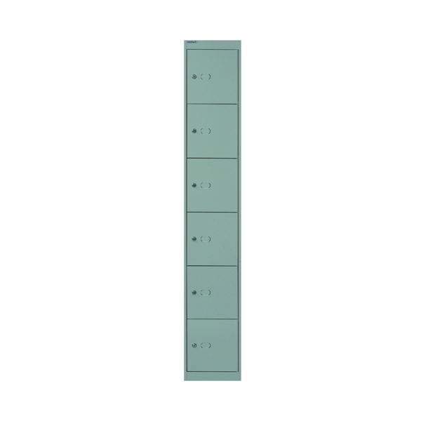 Bisley 6 Door Locker W305xD457xH1802mm Goose Grey BY09217