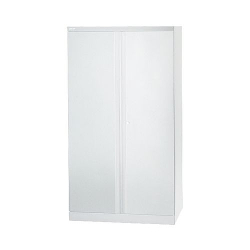 Bisley 2 Door Cupboard W914xD457xH1806mm Chalk White (Pack of 1) BY42033