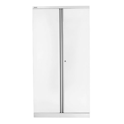 Bisley 2 Door Cupboard W914xD457xH1968mm Chalk White (Pack of 1) BY42036