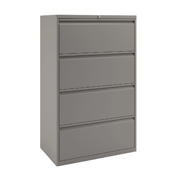 Bisley 4 Drawer Unit Goose Grey BY74762