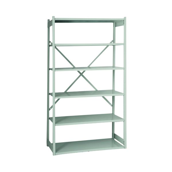 Bisley Shelving W1000xD300mm Grey Extension Kit BY838031