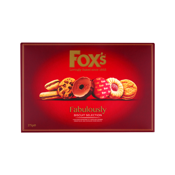 Foxs Fabulously Biscuit Selection 300g A07926