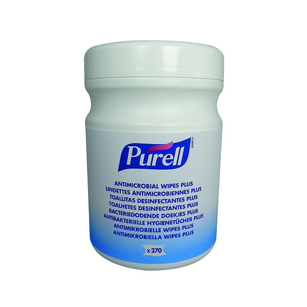Purell Antimicrobial Sanitising Hand Wipes (270 Pack) 9213-06-EEU00