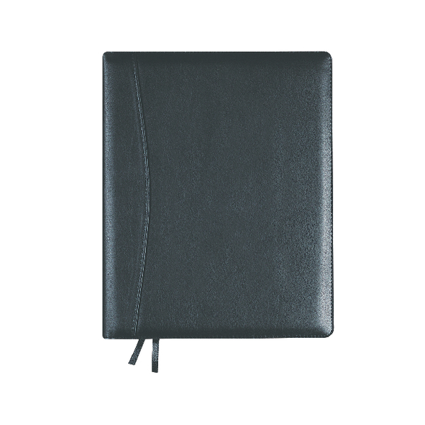 Collins Elite 2019 Executive Day/Page Diary Black 1100V