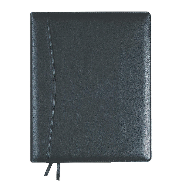 Collins Elite 2018 Compact Day/Page Black Diary 1140V