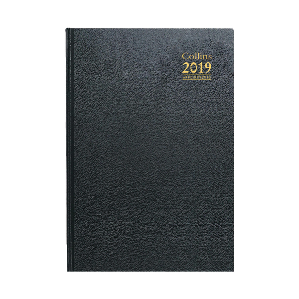 Collins Academic Diary A4 Day/Page Appointments 2018/19 Assorted 44M