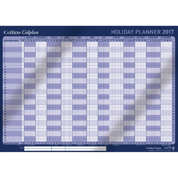 Collins Colplan Holiday 2018 Planner CWC10