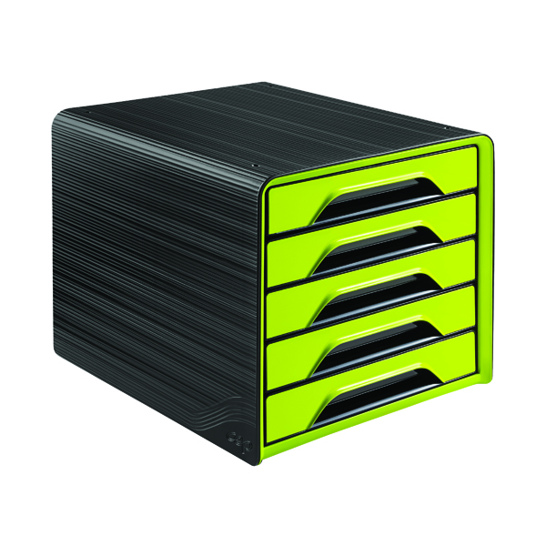 CEP Smoove 5 Drawer Module Black/Green 1071110301
