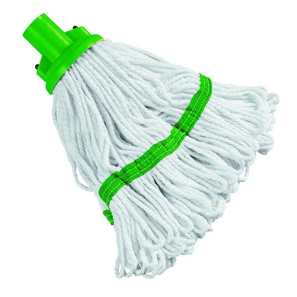 180g Hygiene Socket Mop Head Green 103061GN