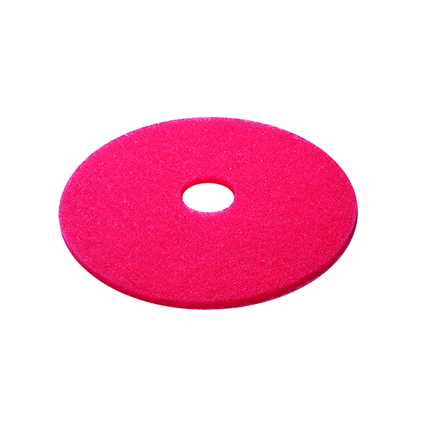 3M Red 15 Inch 380mm Floor Pad (5 Pack) 2NDRD15