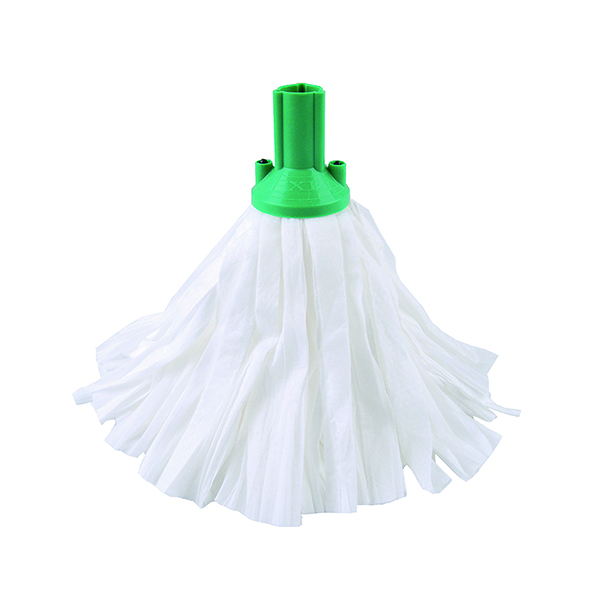 Green Exel Big White Mop Head (10 Pack) 102199GN