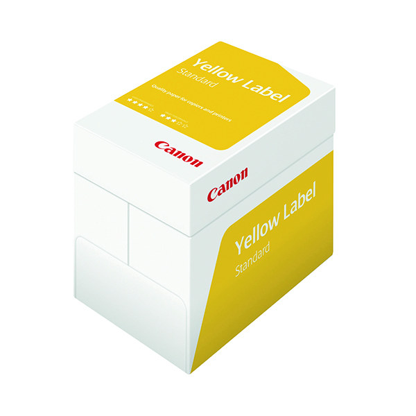 Canon Yellow Label Standard ECF A4 Paper 80gsm (2500 Pack) 97003515