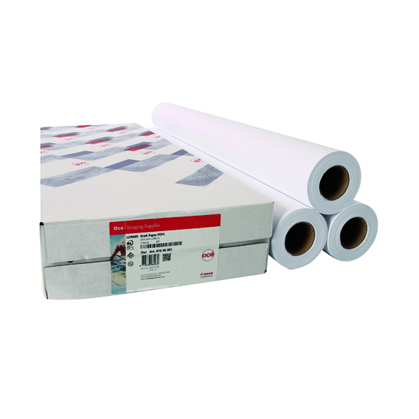 Canon 841mmx91m Uncoated Draft Inkjet Paper 97025714