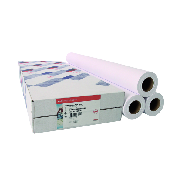 Canon Coated Premium Inkjet Paper 914mmx45m (3 Pack) 97003449