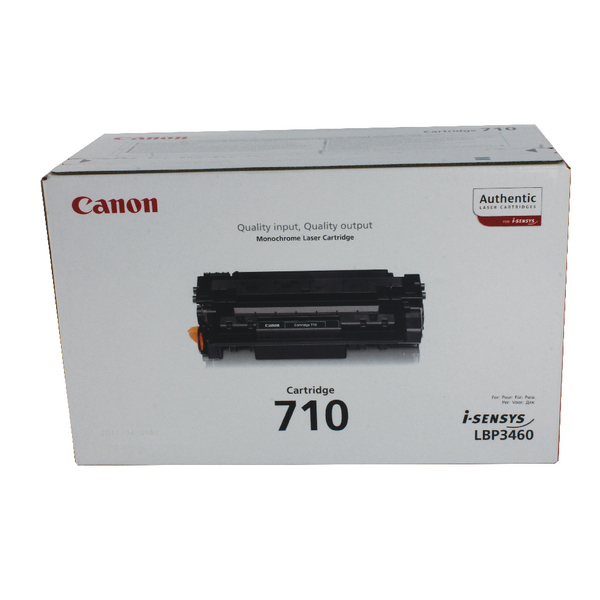 Canon 710 Black Toner Cartridge 0985B001