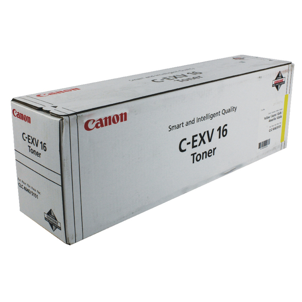 Canon C-EXV 16 Yellow Laser Toner Cartridge 1066B002