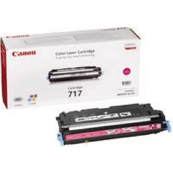 Canon 717M Magenta High Yield Toner Cartridge 2576B002