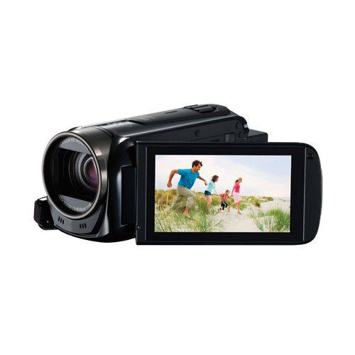 Canon Black LEGRIA HF R506 Full HD Camcorder (Pack of 1) 9176B020AA