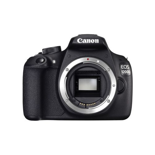 Canon Black EOS 1200D Digital SLR Camera Body 18 Megapixel 9127B020AA (Pack of 1)