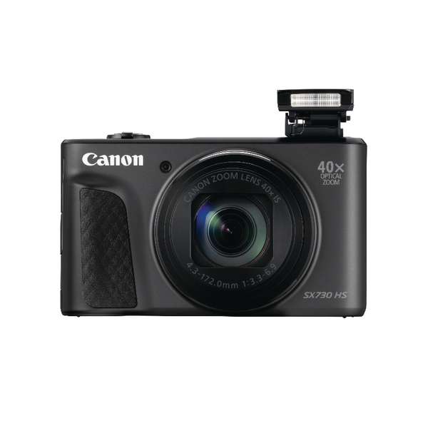 Canon PowerShot SX730 HS Digitial Camera Black 1791C011AA