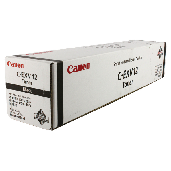 Canon C-EXV 12 Black Laser Toner Cartridge 9634A002