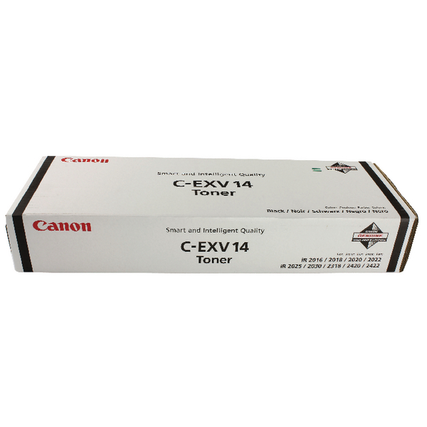 Canon C-EXV 14 Black Laser Toner Cartridge 0384B006