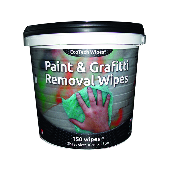 EcoTech Paint and Graffiti Wipes (Tub of 150 Pack) EBPG150