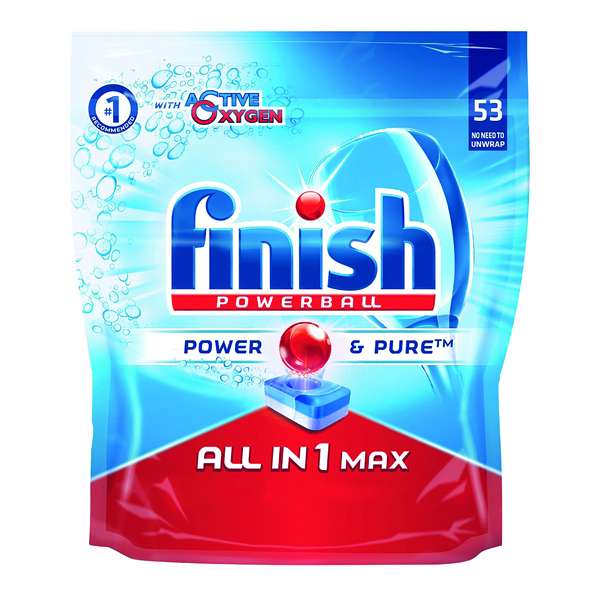 Finish All In 1 Turbo Dishwasher Tablets (53 Pack) RB787212