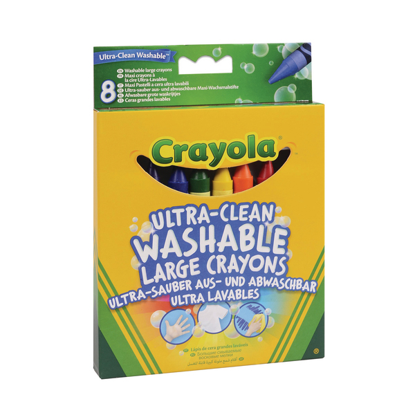 Crayola Ultra Clean Large Crayons (48 Pack) 52-3282-E-000