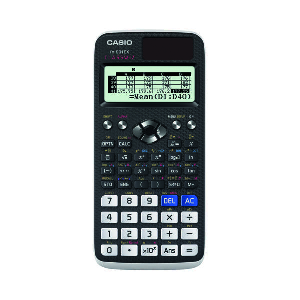 Casio Graphic Calculator FX-991EX-S-UH