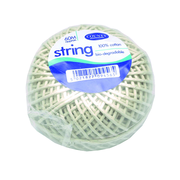 County Cotton String Ball Medium 60m C176
