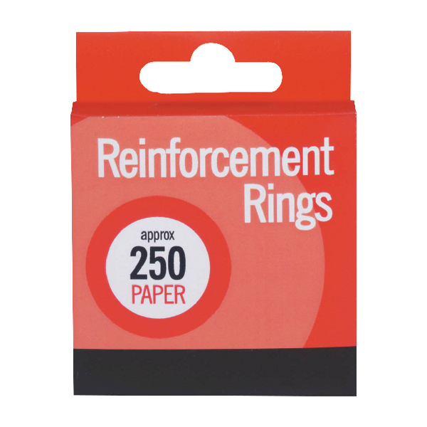 Paper Reinforcements 250 (12 Pack) C334
