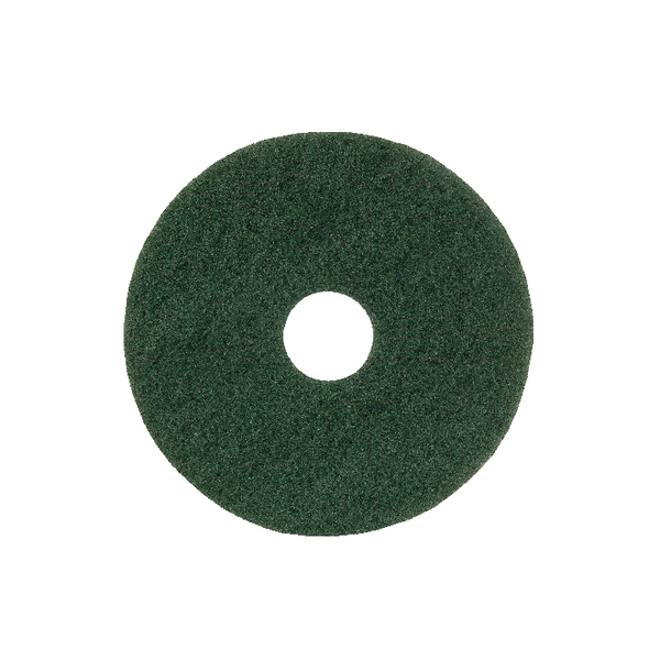 15in Standard Speed Floor Pad Green (5 Pack) 102603