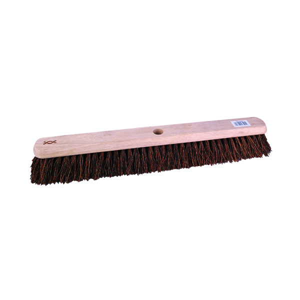 24in Platform Broom with Stiff Bristles and 1400mm Handle 102884