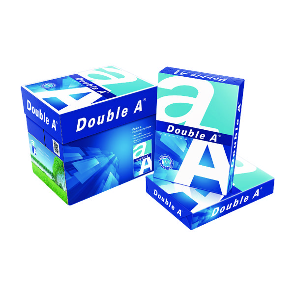 Double A White Premium A4 Paper 80gsm 500 Sheets (2500 Pack) 3613630000059