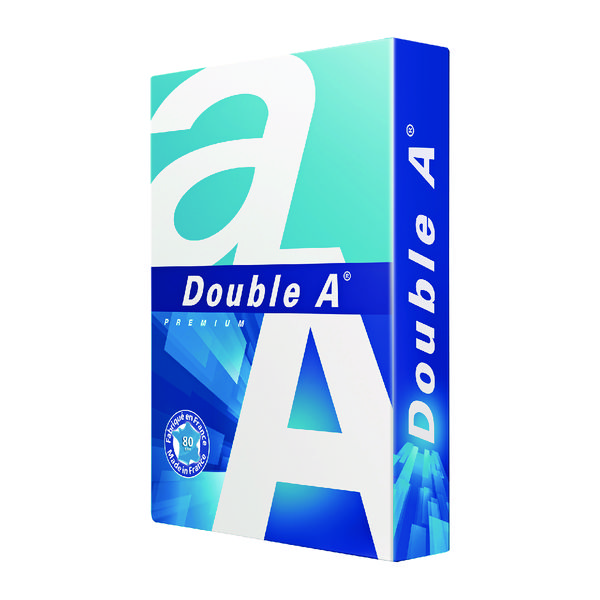 Double A White Premium A3 Paper 80gsm 500 Sheets 3613630000134 (500 Pack)