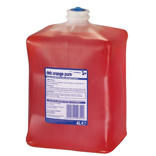 Deb Estesol Orange Lotion 4 Litre Cartridge DOP4000L