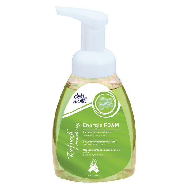 Deb Refresh Energie Hand Wash 250ml Pump Bottle ENG250ML