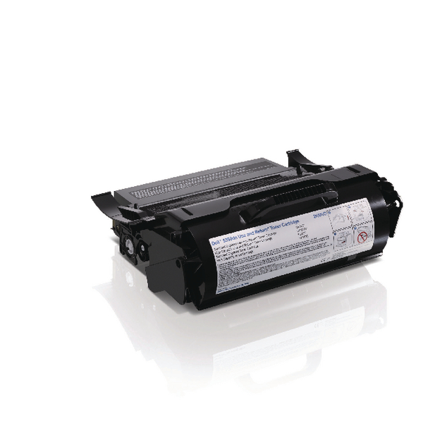 Dell Black High Capacity Use and Return Toner Cartridge 593-11052
