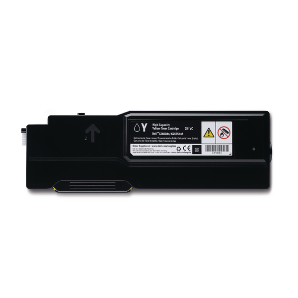 Dell Yellow 593-BBBR Toner Cartridge