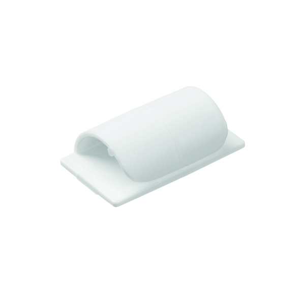 D-Line Cable Clips Self-Adhesive White (20 pack) CTC1P20PK