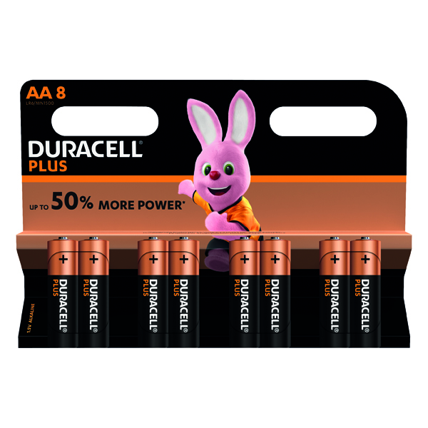 Duracell Plus AA Battery (8 Pack) 81275377