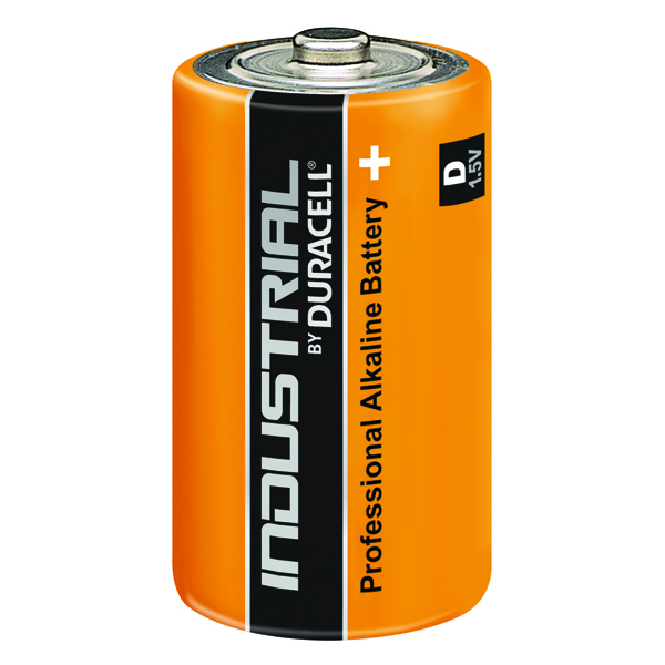 Duracell Industrial D Alkaline Batteries 81451917 (10 Pack)