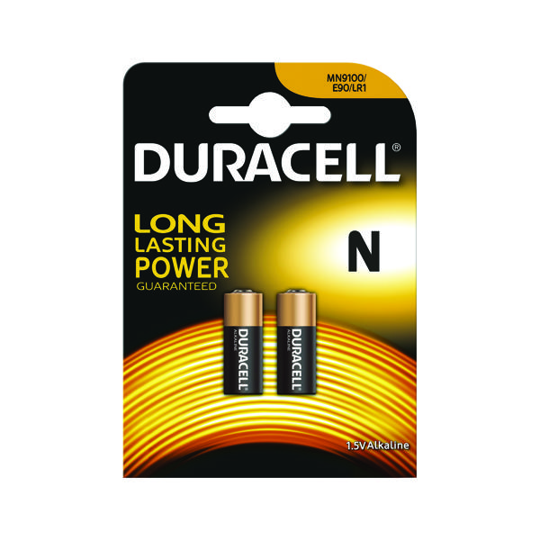 Duracell 1.5V N Remote Control Battery MN9100 (Pack of 2) 81223600