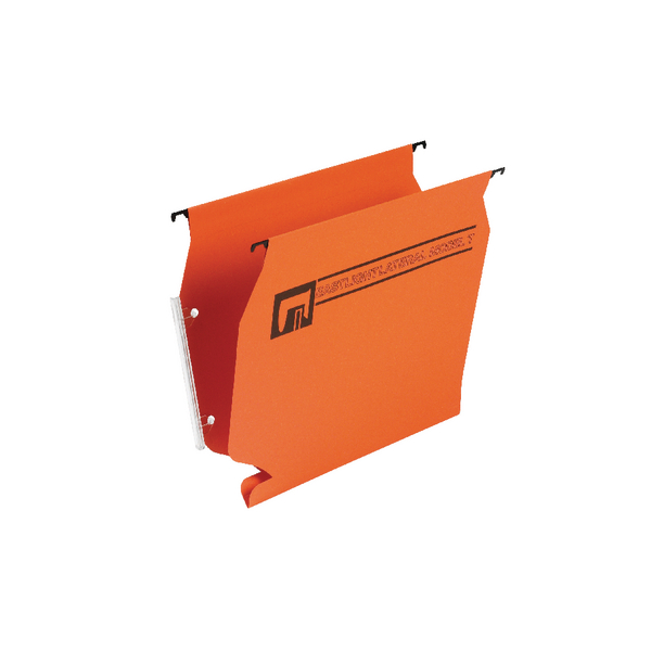Rexel Lateral Model T Suspension Files Foolscap Orange (50 Pack) 12706EAST