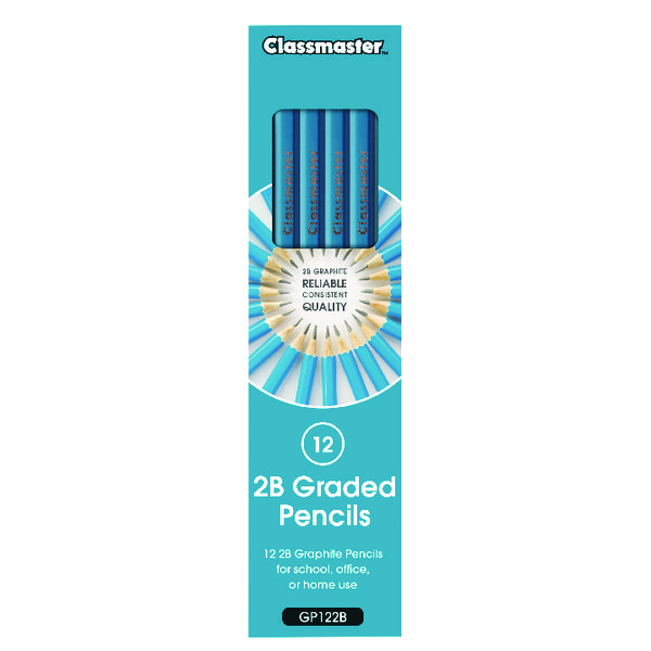 Classmaster Pencils 2B (12 Pack) GP122B