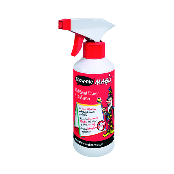 Show-Me 250ml Magix Whiteboard Cleaner and Conditioner WCC