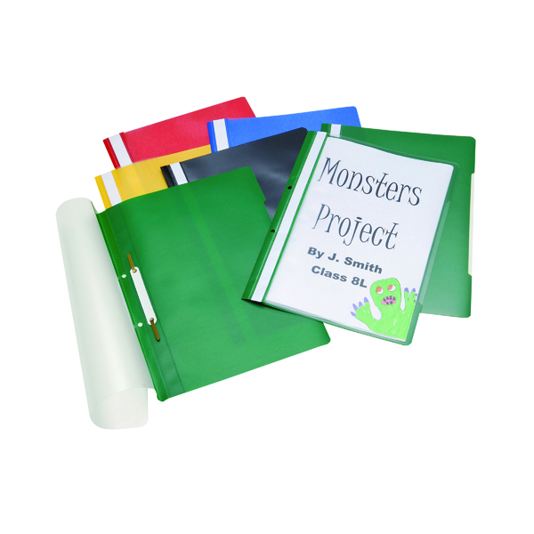 Classmaster Project Files Assorted (100 Pack) PFA100