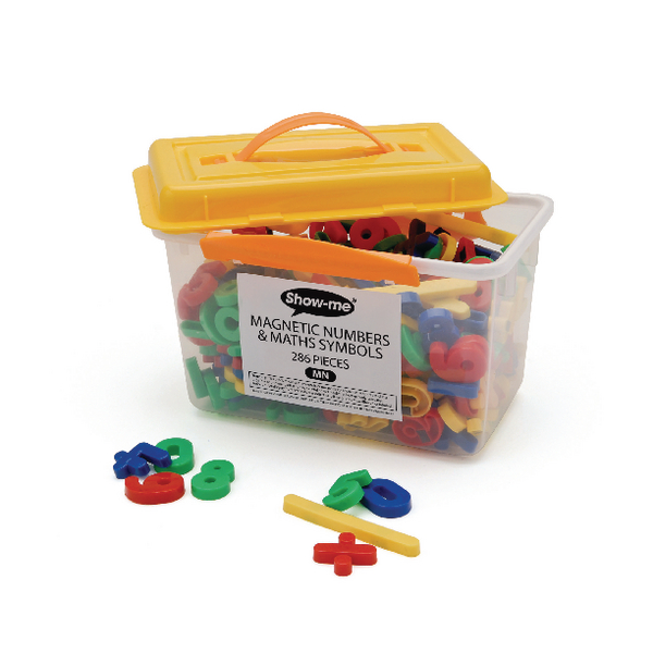 Show-Me Magnetic Maths Symbols and Numbers (286 Pack) MN